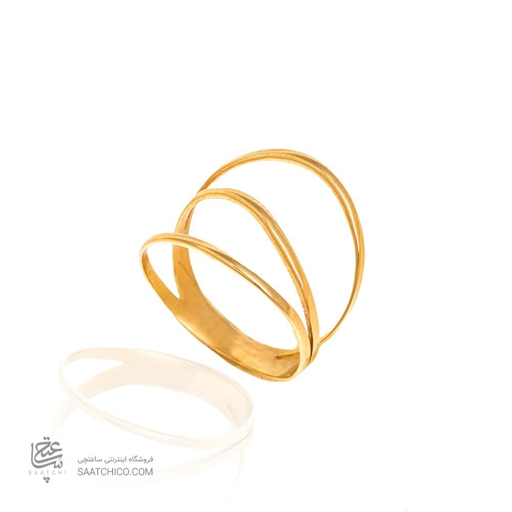 انگشتر طلا کد CR461