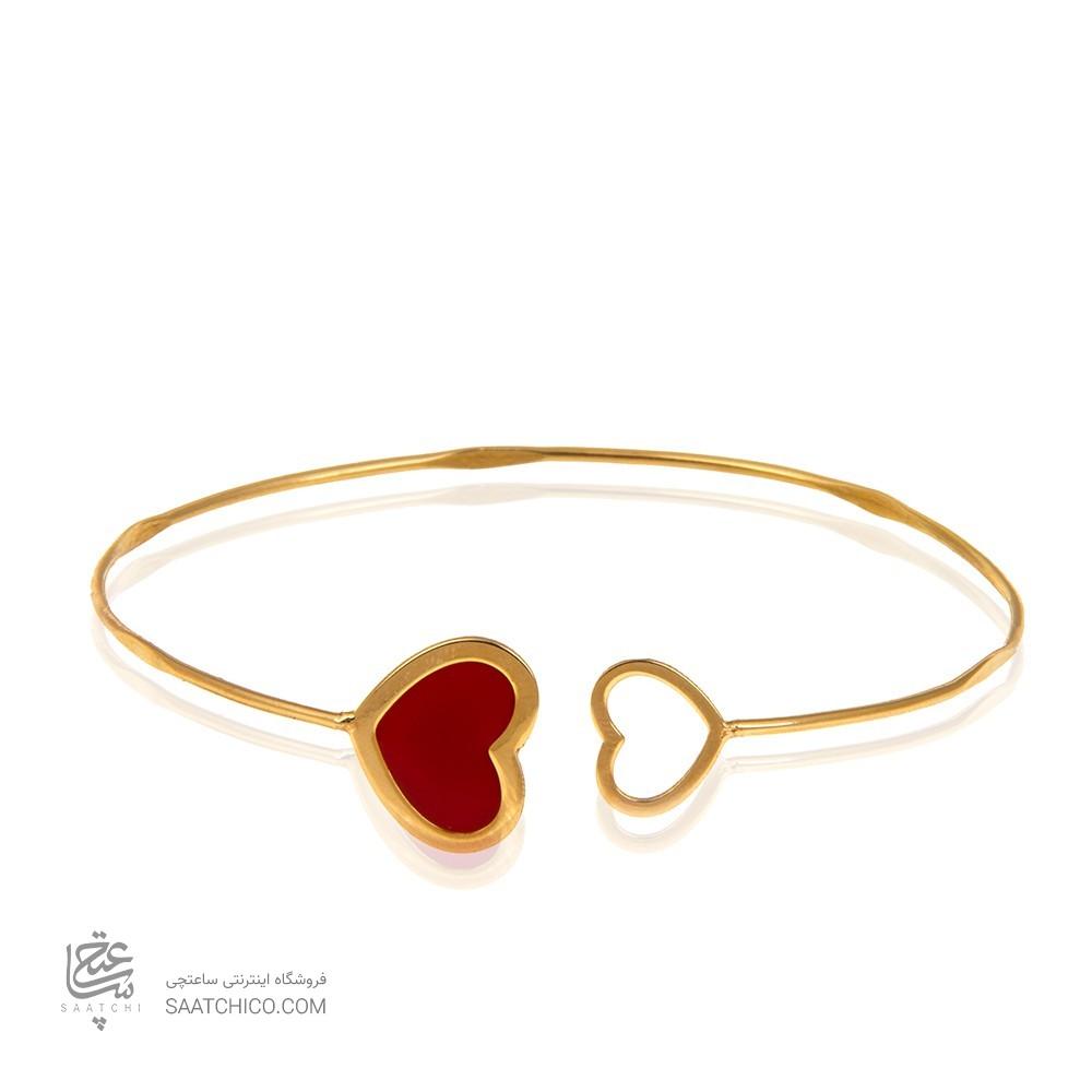 دستبند النگویی طلا کد cb378
