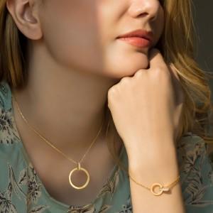 دستبند طلا کد cb388