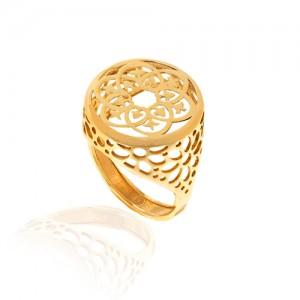 انگشتر طلا کد cr318