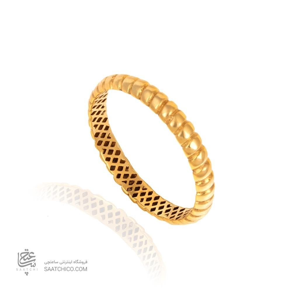 انگشتر طلا کد cr357
