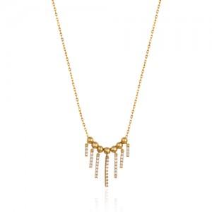 گردنبند طلا کد cn407