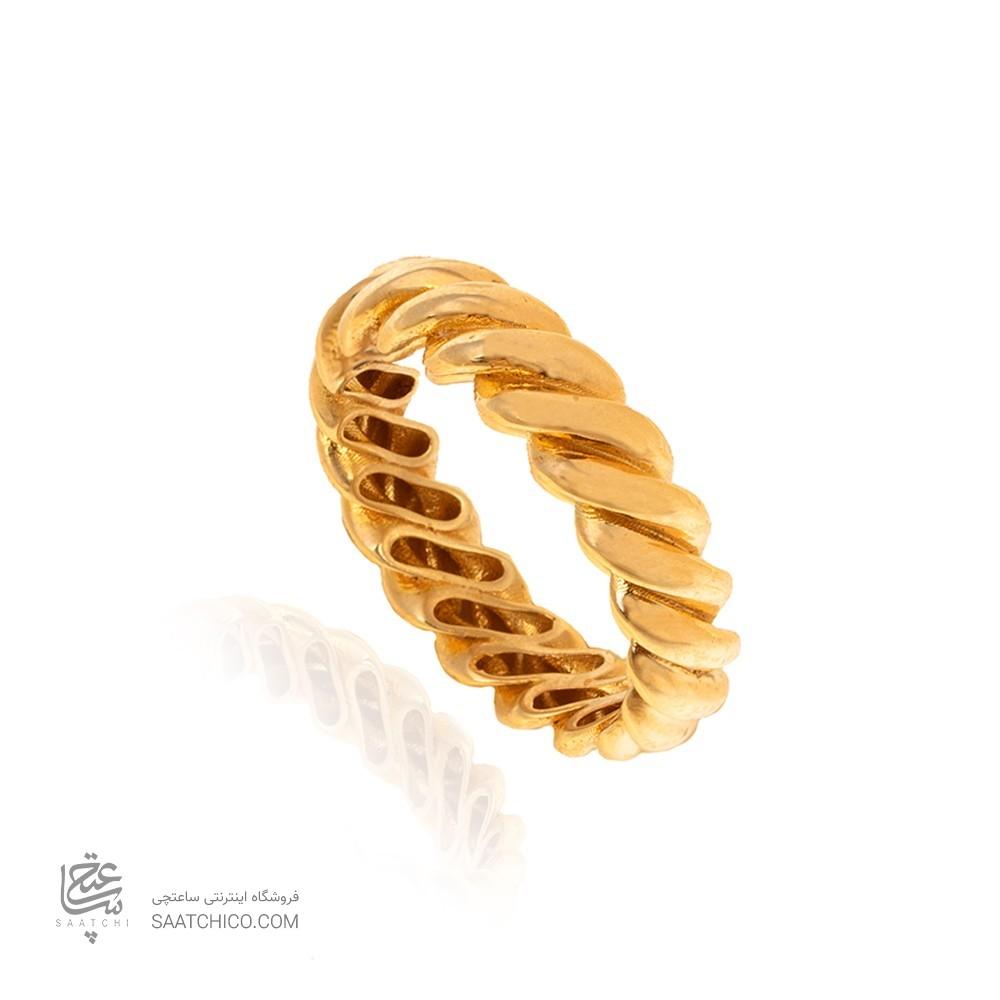 انگشتر طلا کد cr359