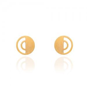 گوشواره میخی طلا کد le629