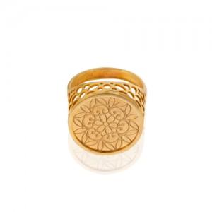 انگشتر طلا کد CR463