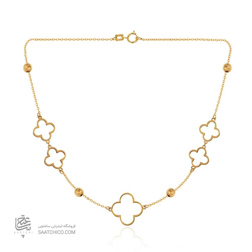 گردنبند طلا زنانه کد CN422
