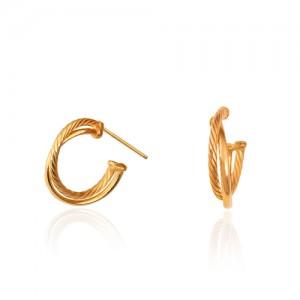 گوشواره طلا زنانه کد CE370