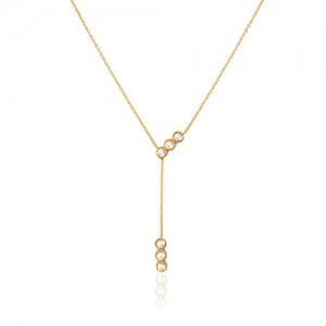 گردنبند طلا با آویز کد CN420