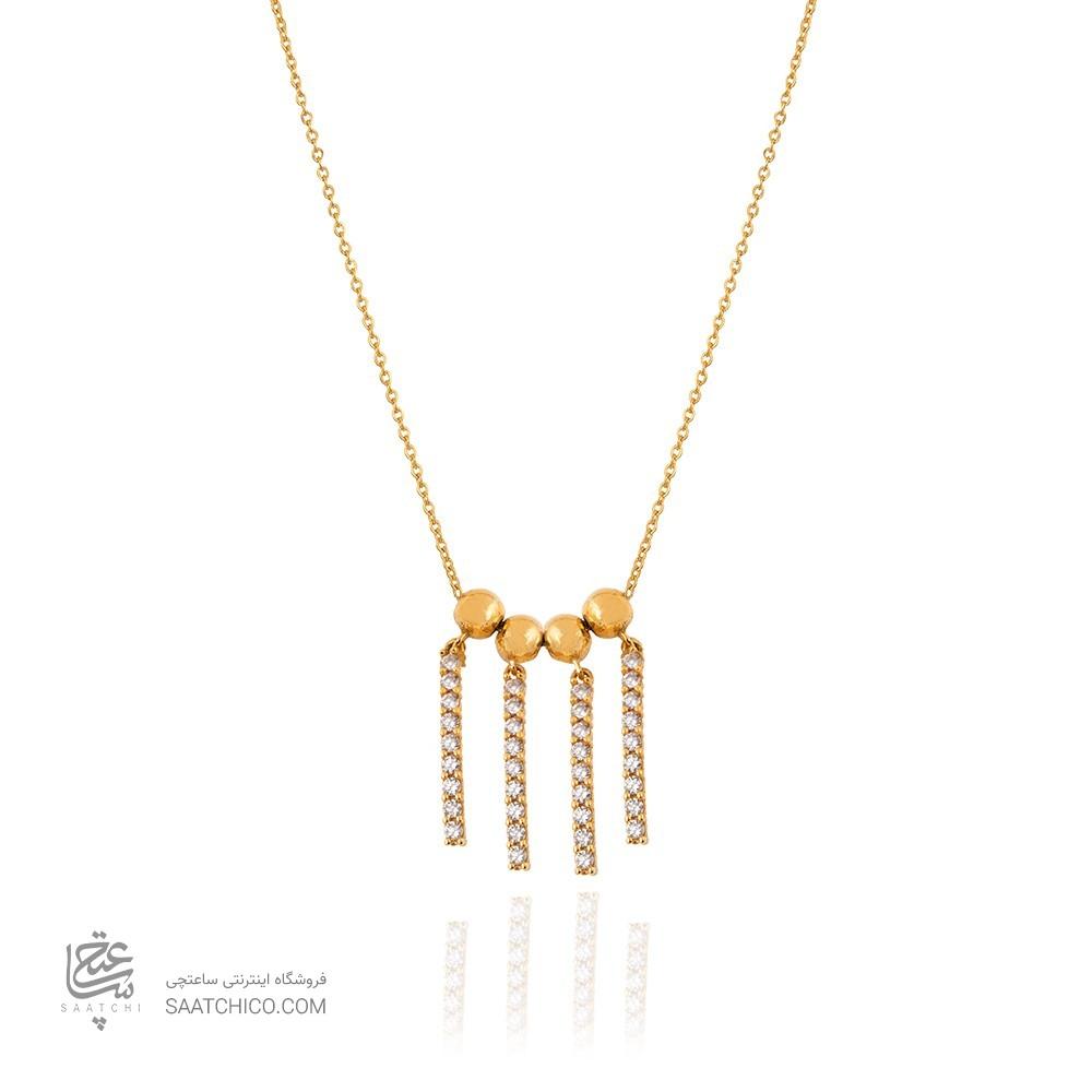 گردنبند طلا زنانه طرح کد CN426