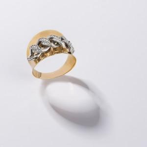 انگشتر طلا کد CR467