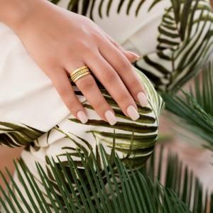 انگشتر طلا کد CR468