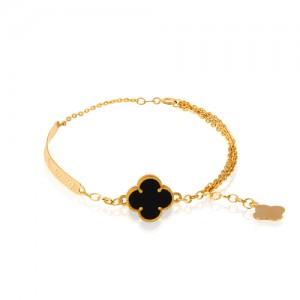 دستبند طلا زنانه کد CB397