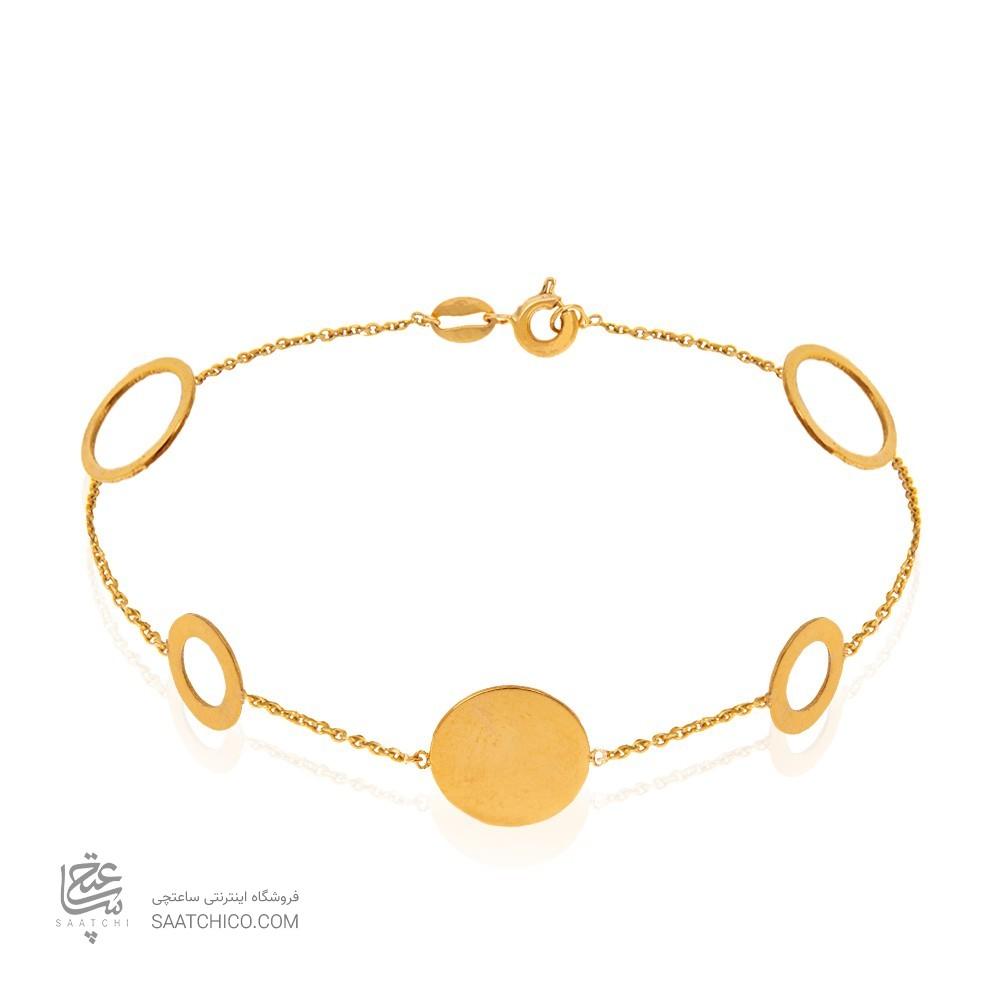 دستبند طلا زنانه کد LB113