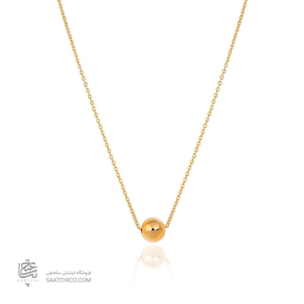 گردنبند طلا با گوی کد CN431