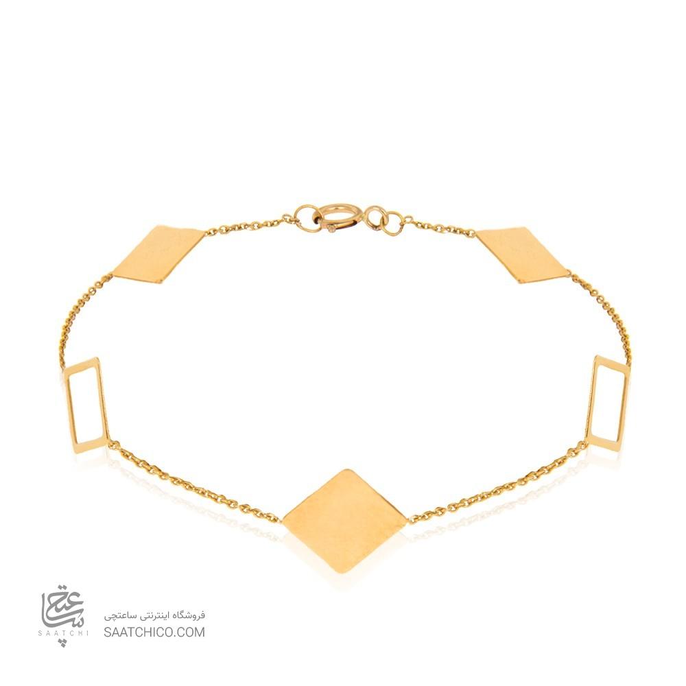 دستبند طلا زنانه کد LB114