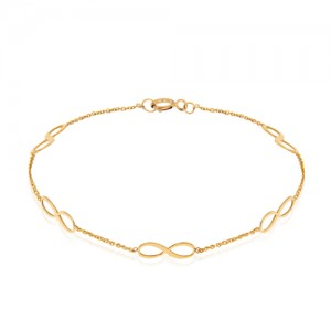 دستبند طلا زنانه کد LB116