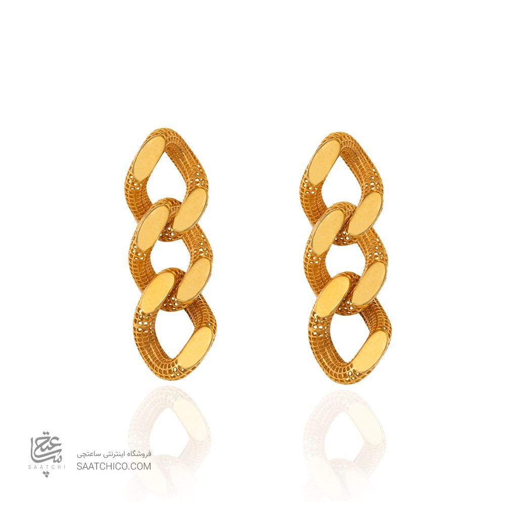 گوشواره میخی طلا کد CE376