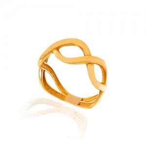 انگشتر طلا کد CR471