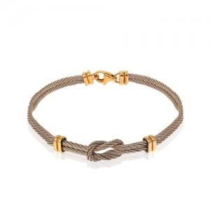 دستبند طلای زنانه کد CB403
