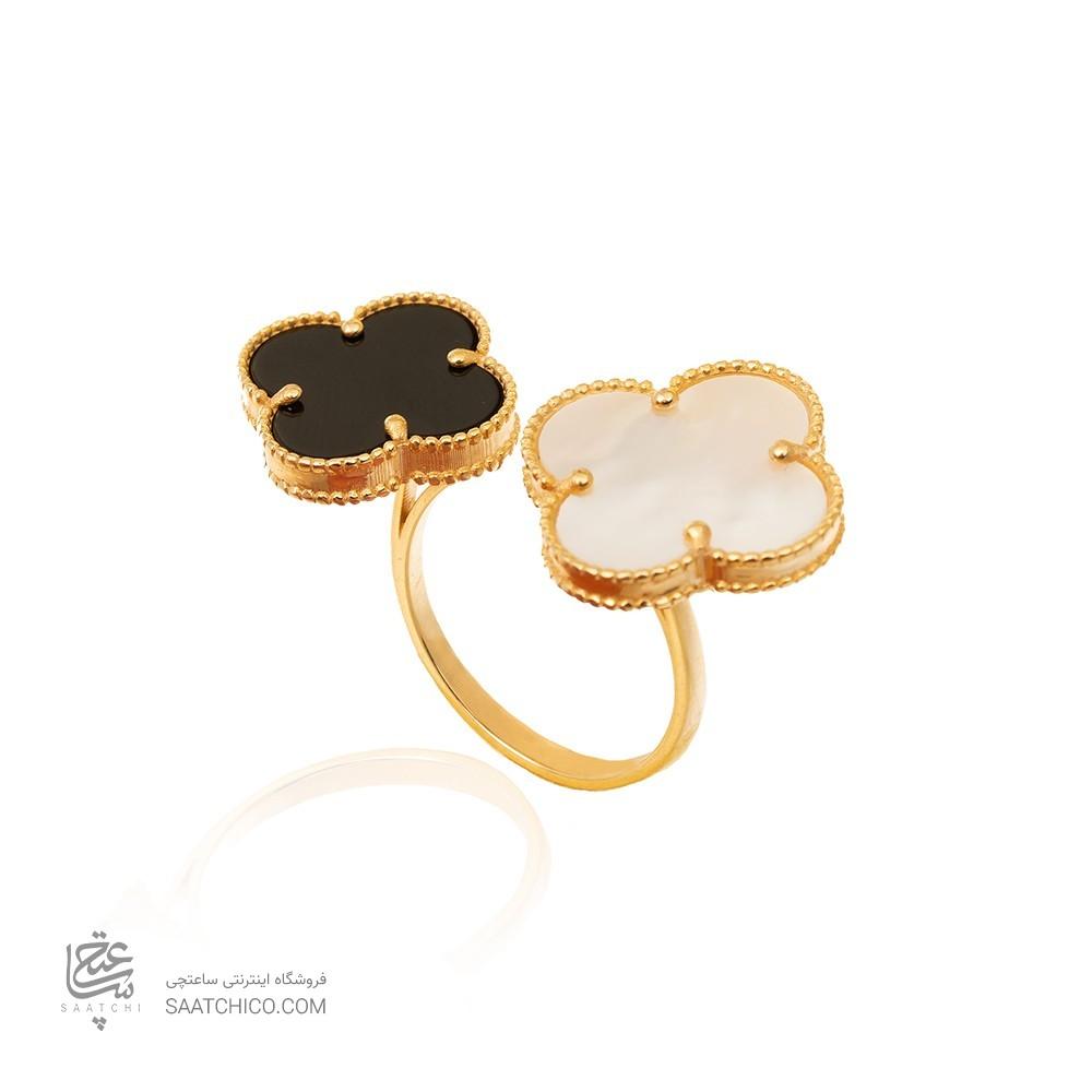انگشتر طلا زنانه طرح ونکلیف CR470