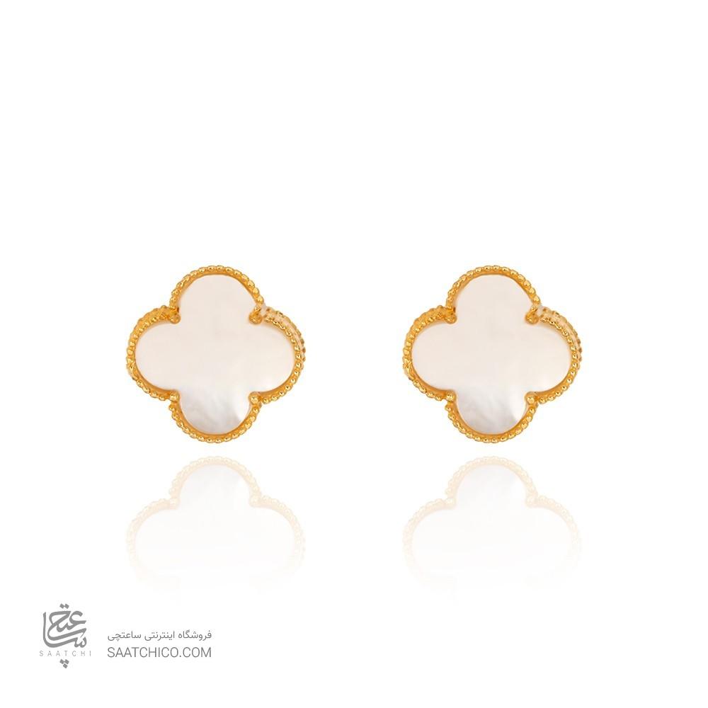 گوشواره طلا طرح ونکلیف CE375