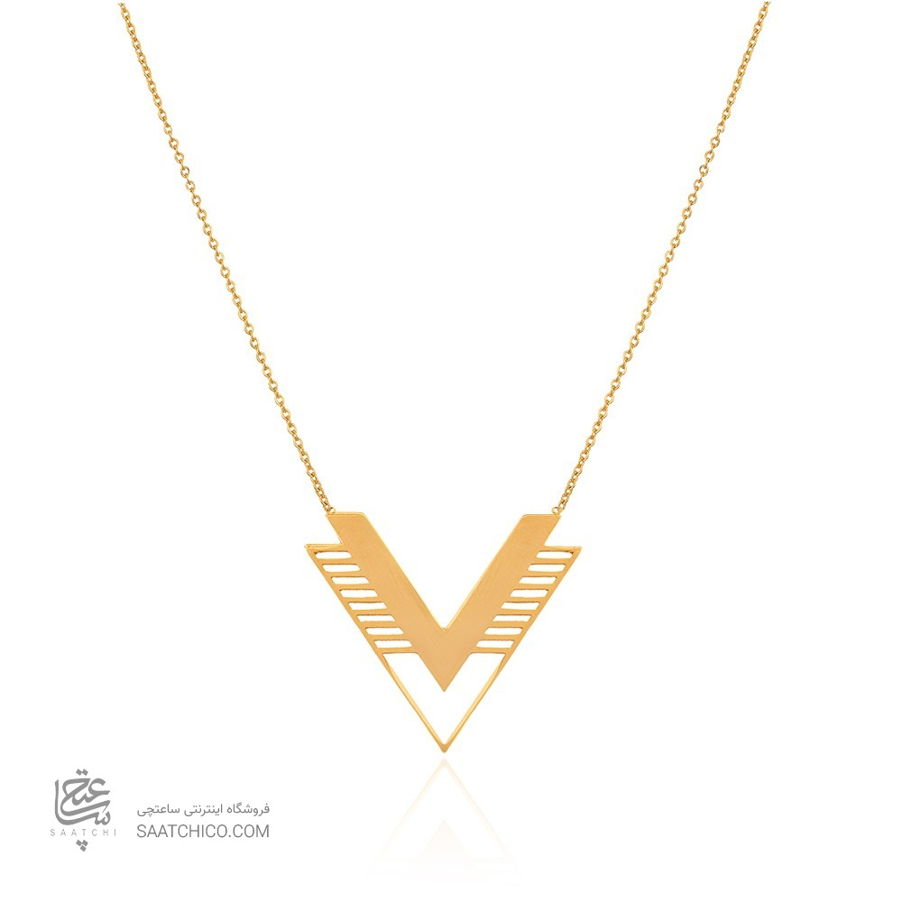 گردنبند طلا طرح اسلیمی کد LN868