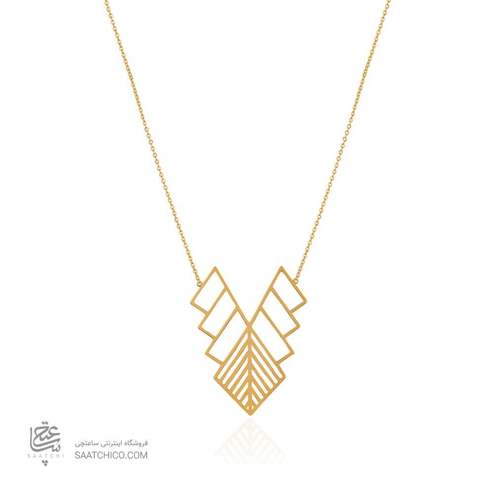 گردنبند طلا طرح اسلیمی کد LN864