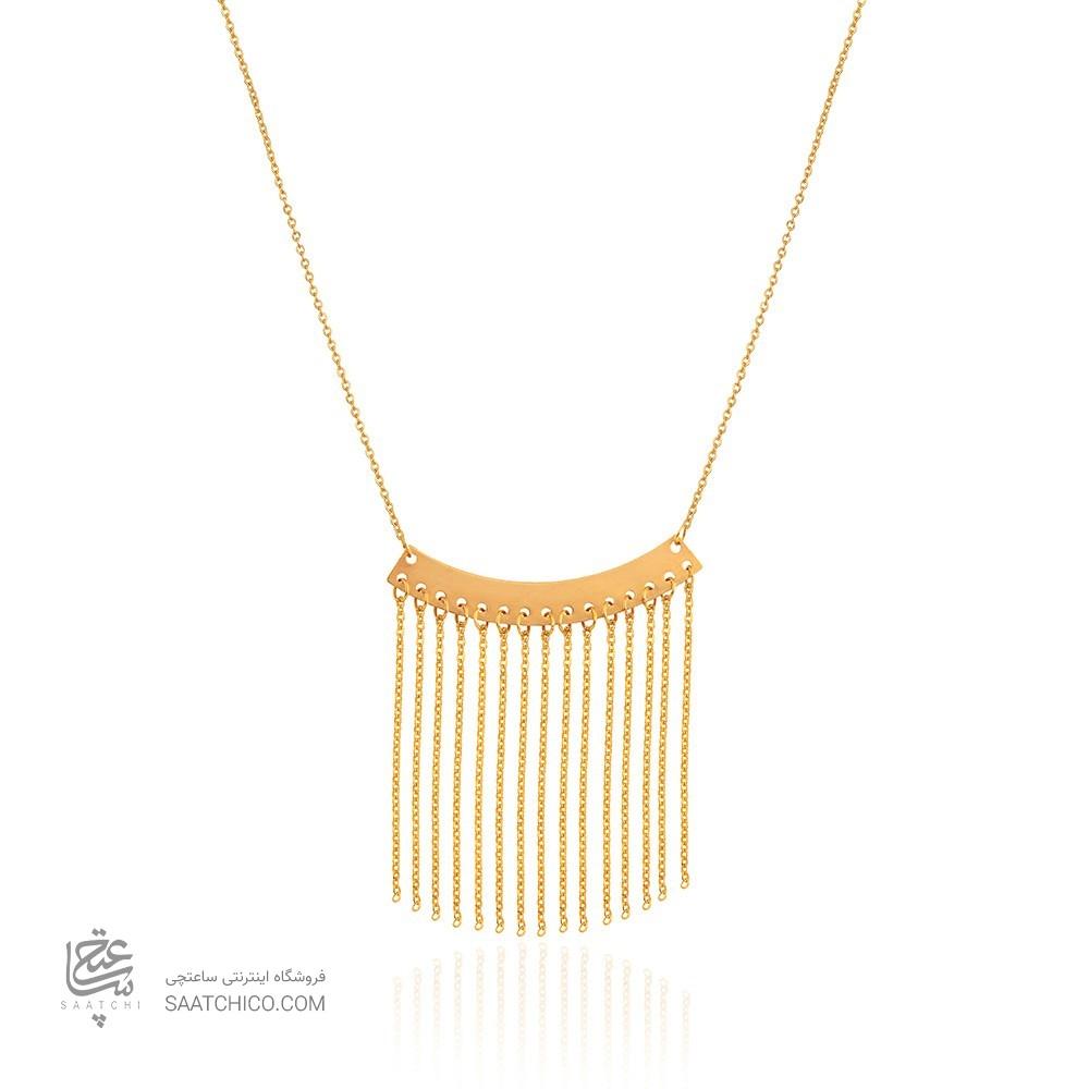گردنبند طلا طرح کد LN865
