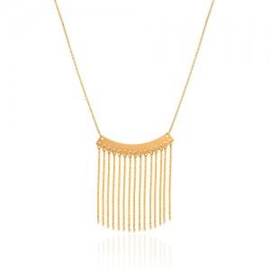 گردنبند طلا طرح اسلیمی کد LN865