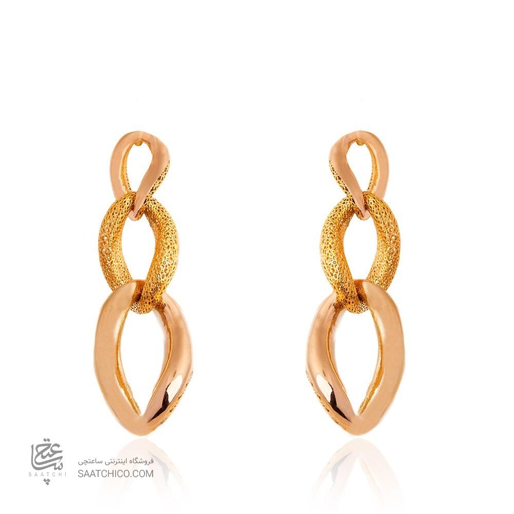 گوشواره میخی طلا زنانه کد CE385