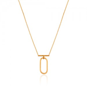 گردنبند طلا زنانه کد CN328