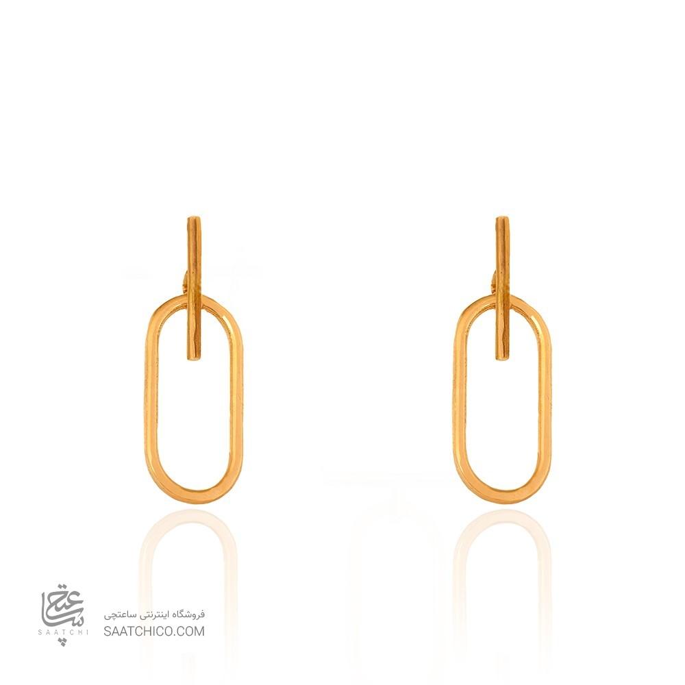 گوشواره طلا زنانه کد CE386
