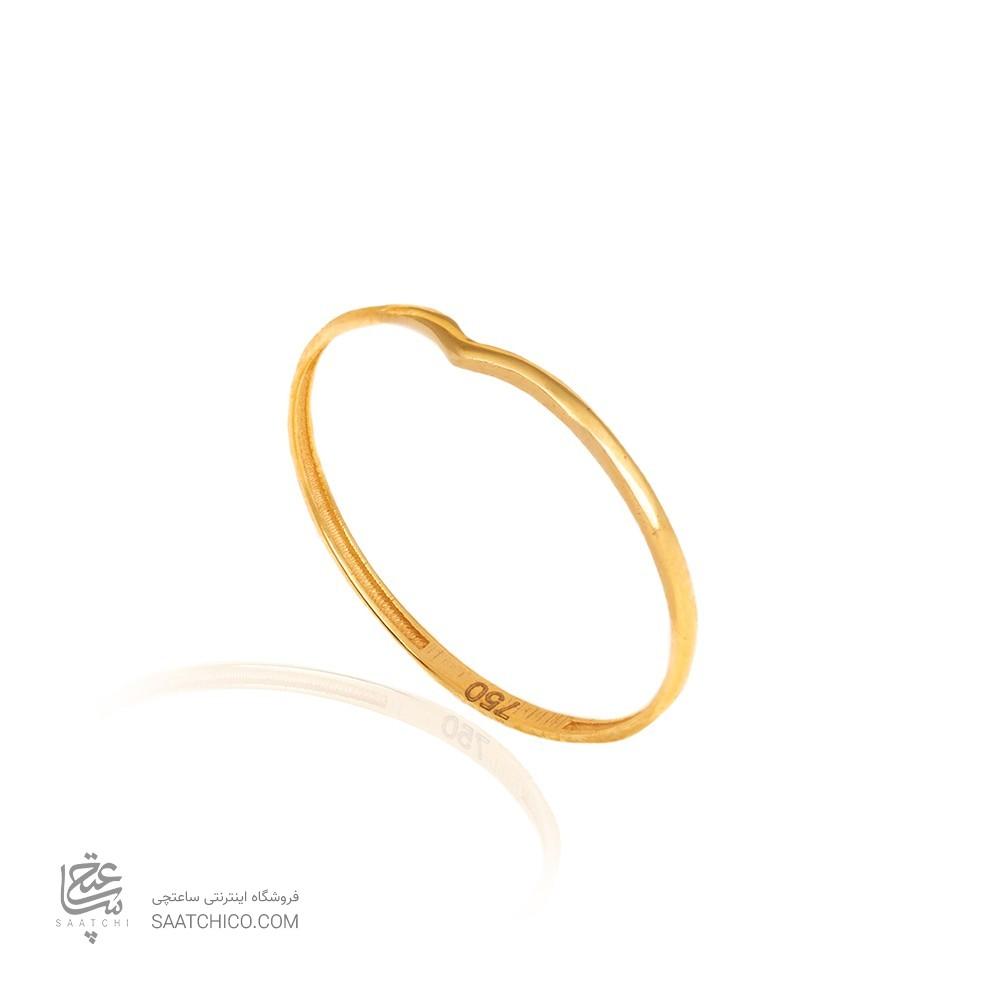 انگشتر طلا رنانه کد CR473