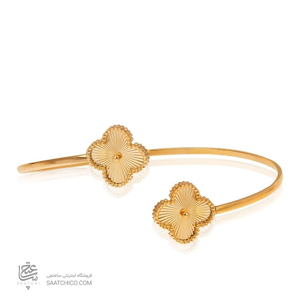 دستبند طلا النگویی طرح ونکلیف کد CB338