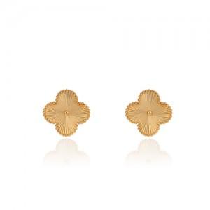 گوشواره طلا زنانه طرح ونکلیف کد CE303