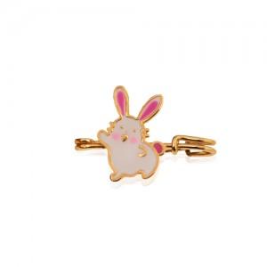 سنجاق سینه کودک طرح خرگوش کد ko115