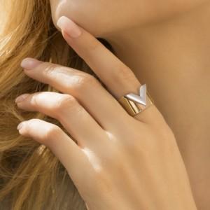 انگشتر طلا کد cr490