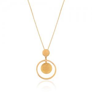 گردنبند طلا زنانه کد LN802