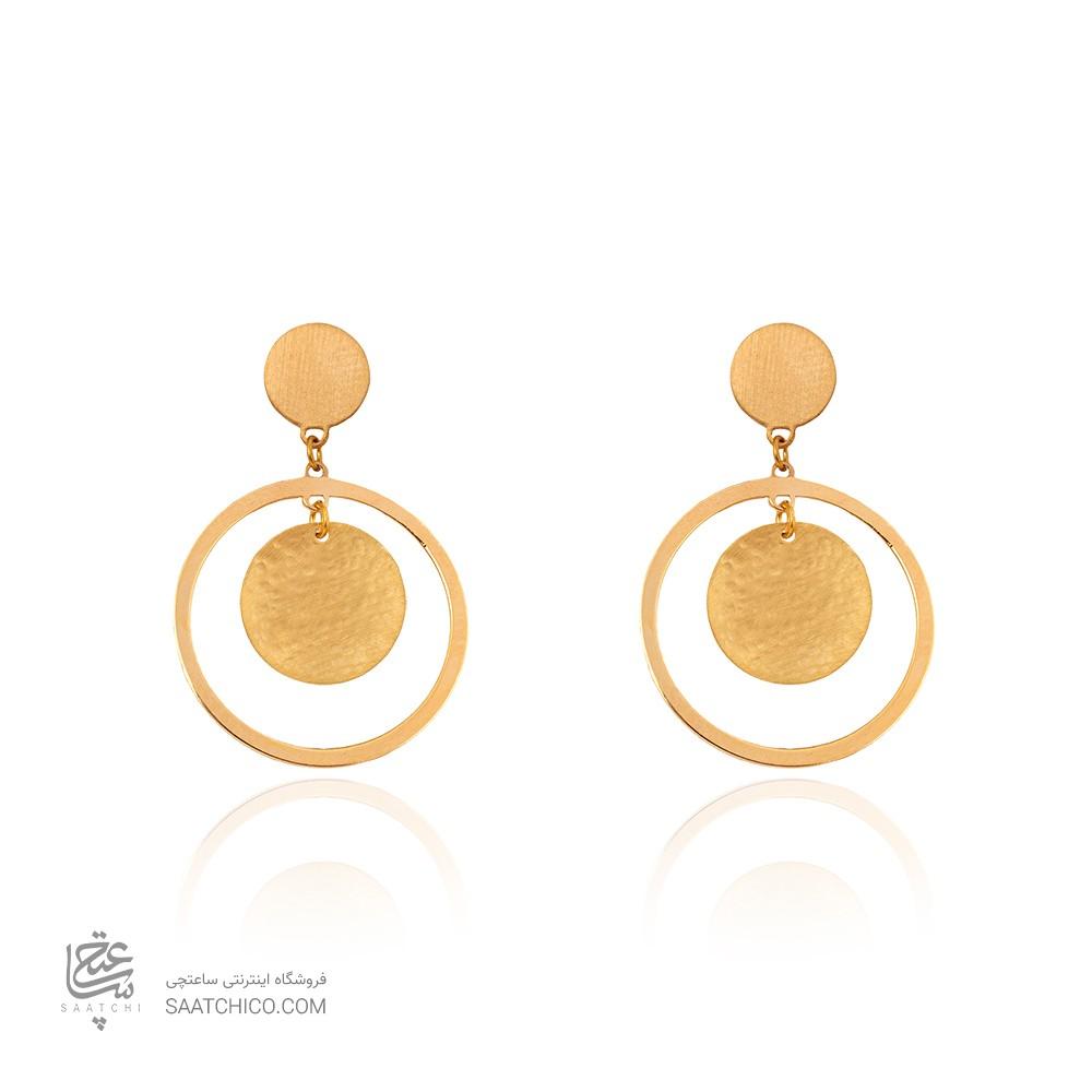 گوشواره طلا زنانه کد LE654