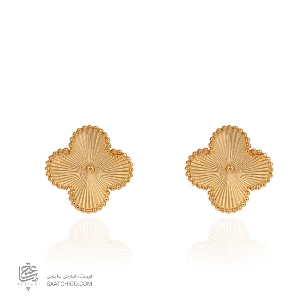 گوشواره طلا طرح ونکلیف کد CE400