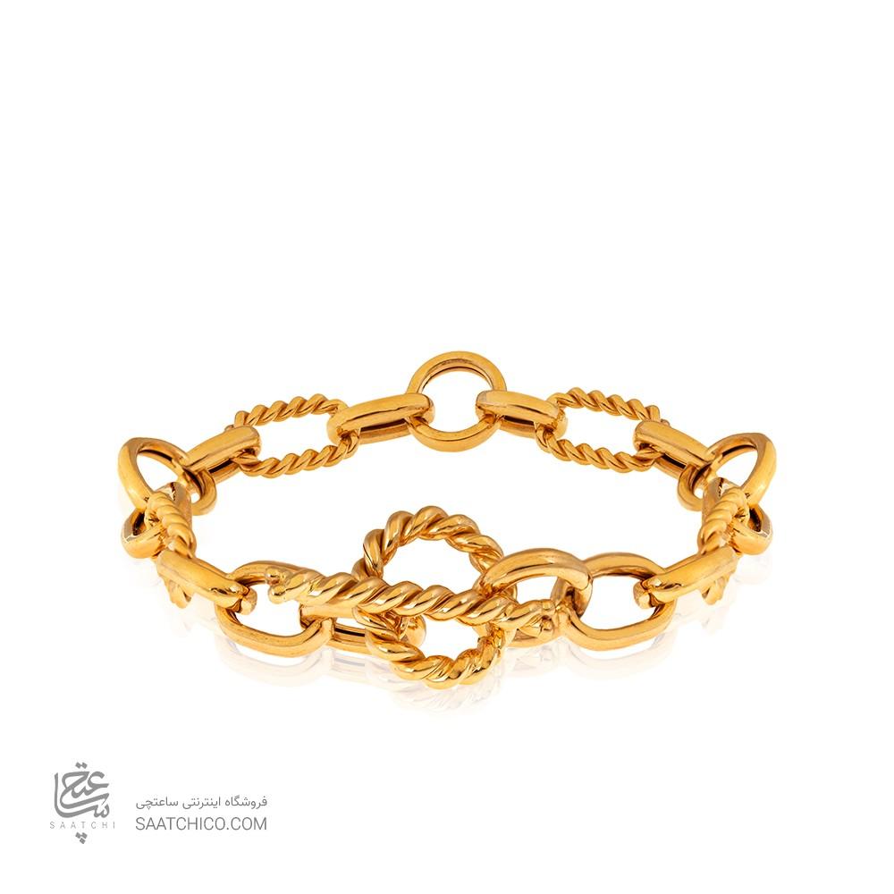 دستبند طلا دیوید یورمن با قفل تی کد CB425