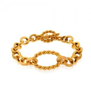 دستبند طلا دیوید یورمن با قفل تی کد CB428