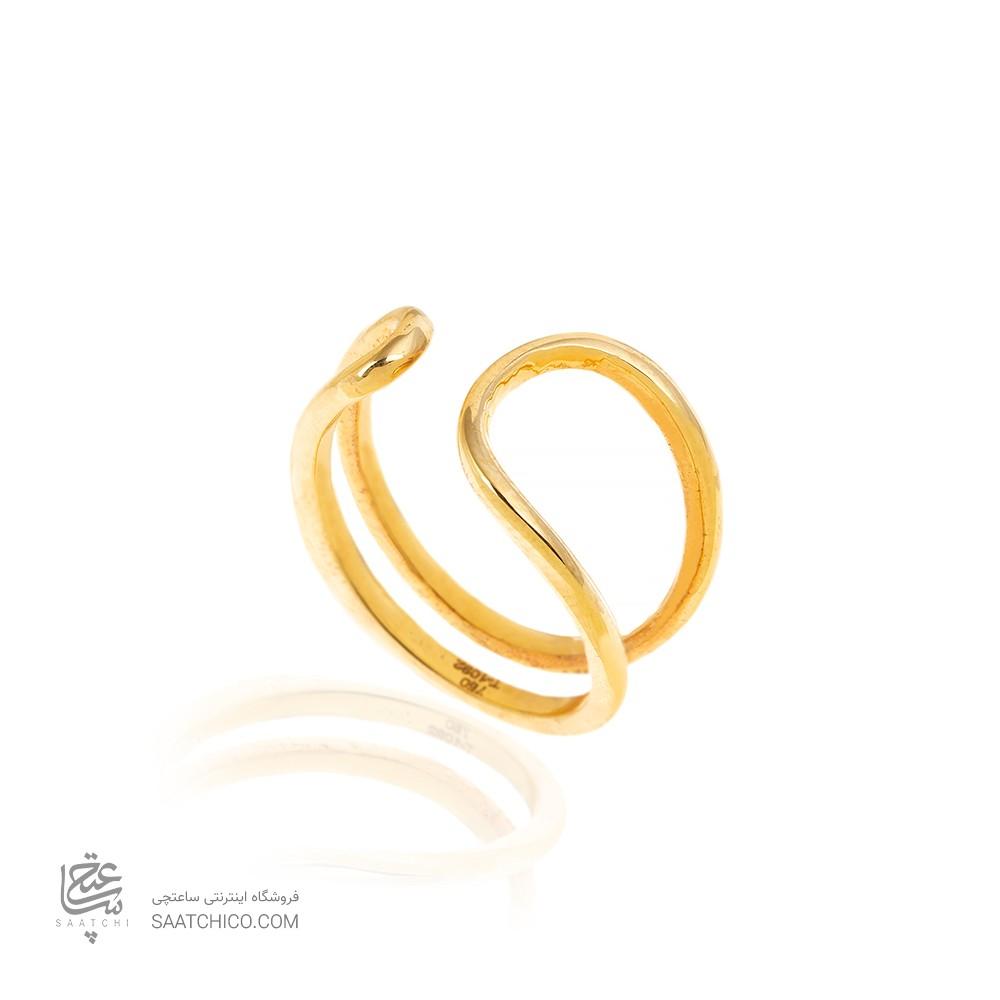 انگشتر طلا کد CR498