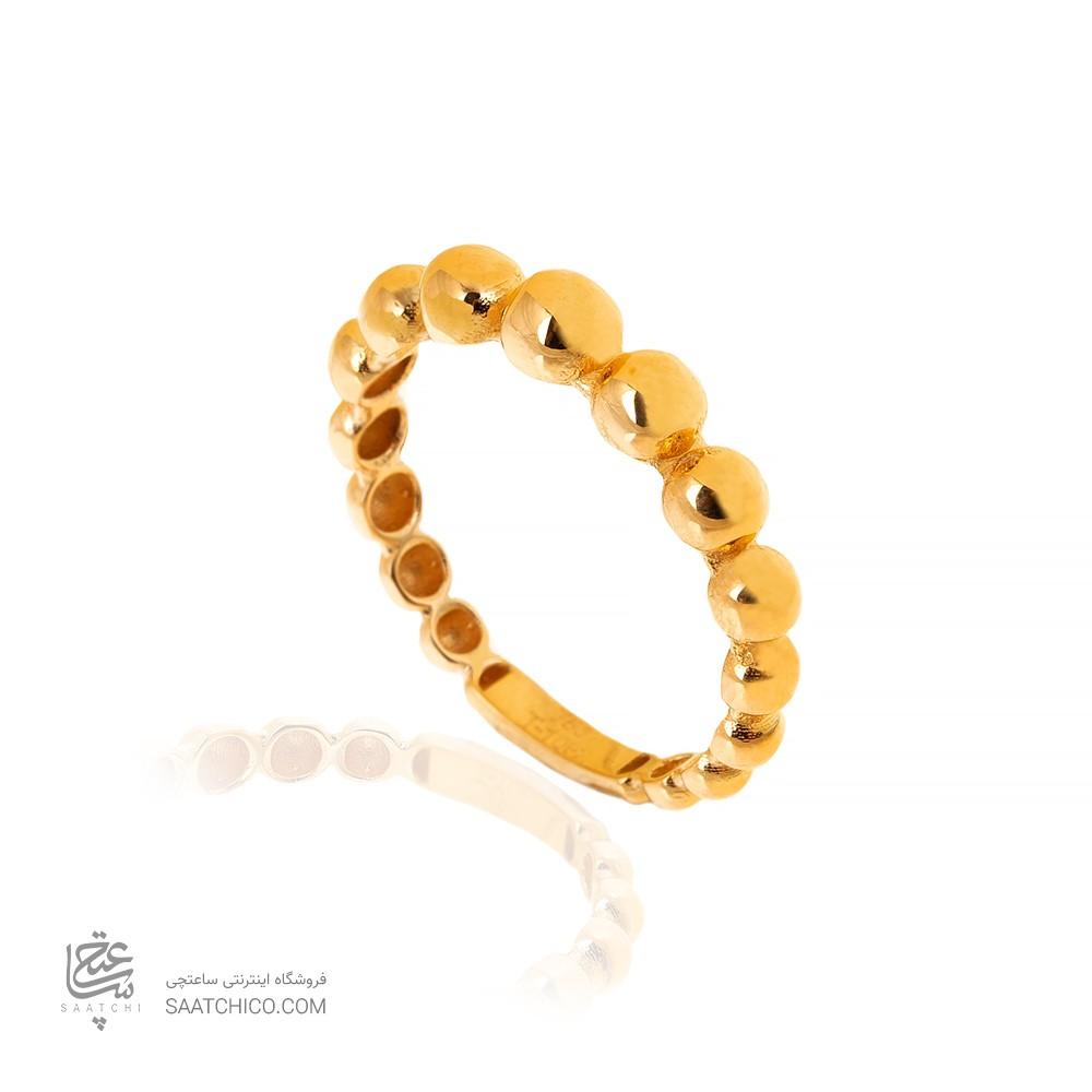 انگشتر طلا طرح گوارسه کد CR503