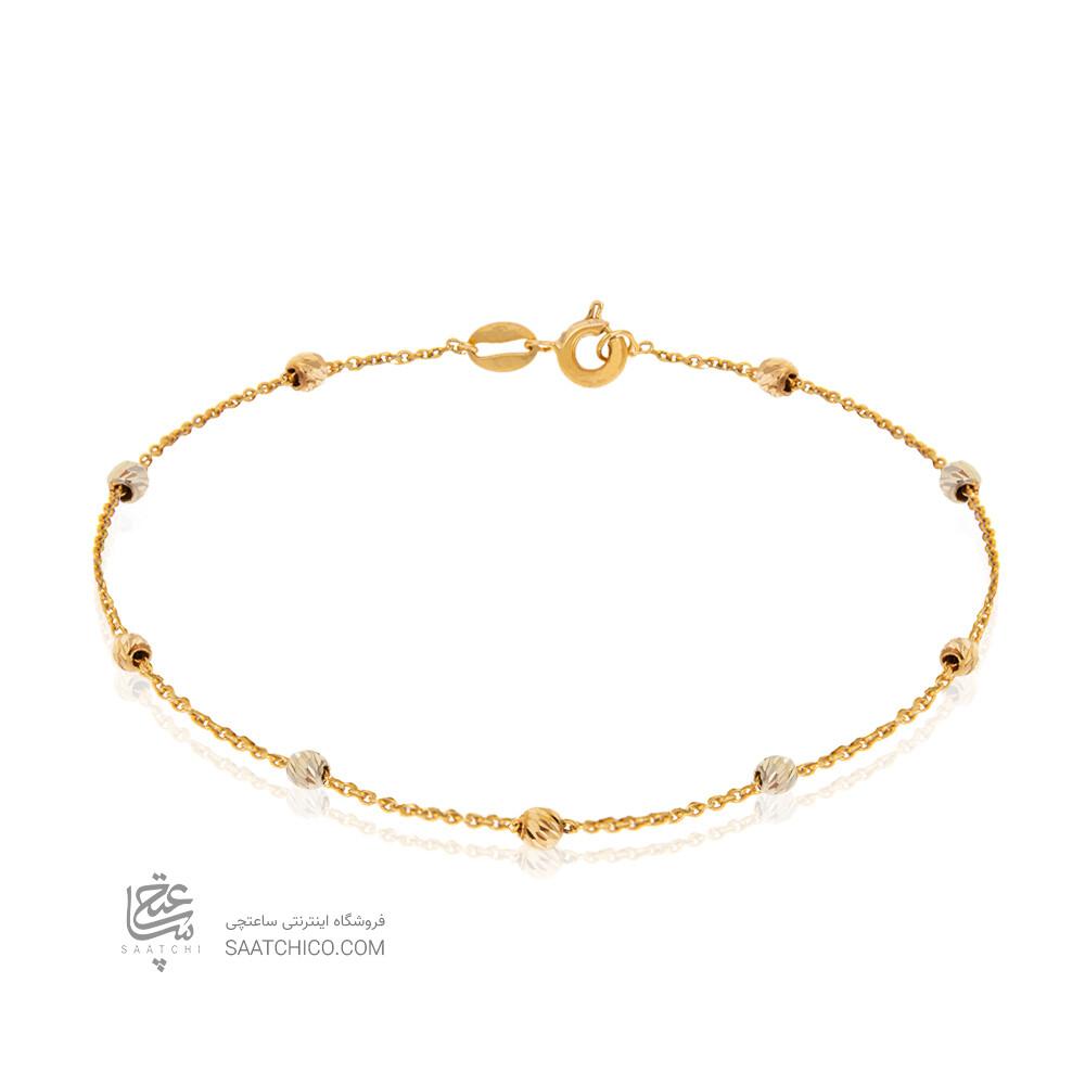 دستبند طلا  با گوی البرنادو کد CB442