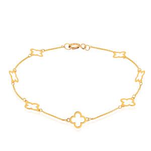 پابند طلا طرح ونکلیف کد LA710