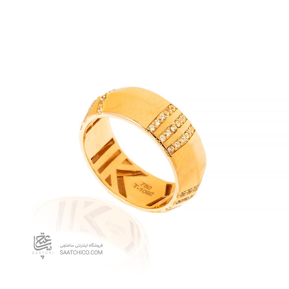 انگشتر طلا طرح اطلس تیفانی کد CR509