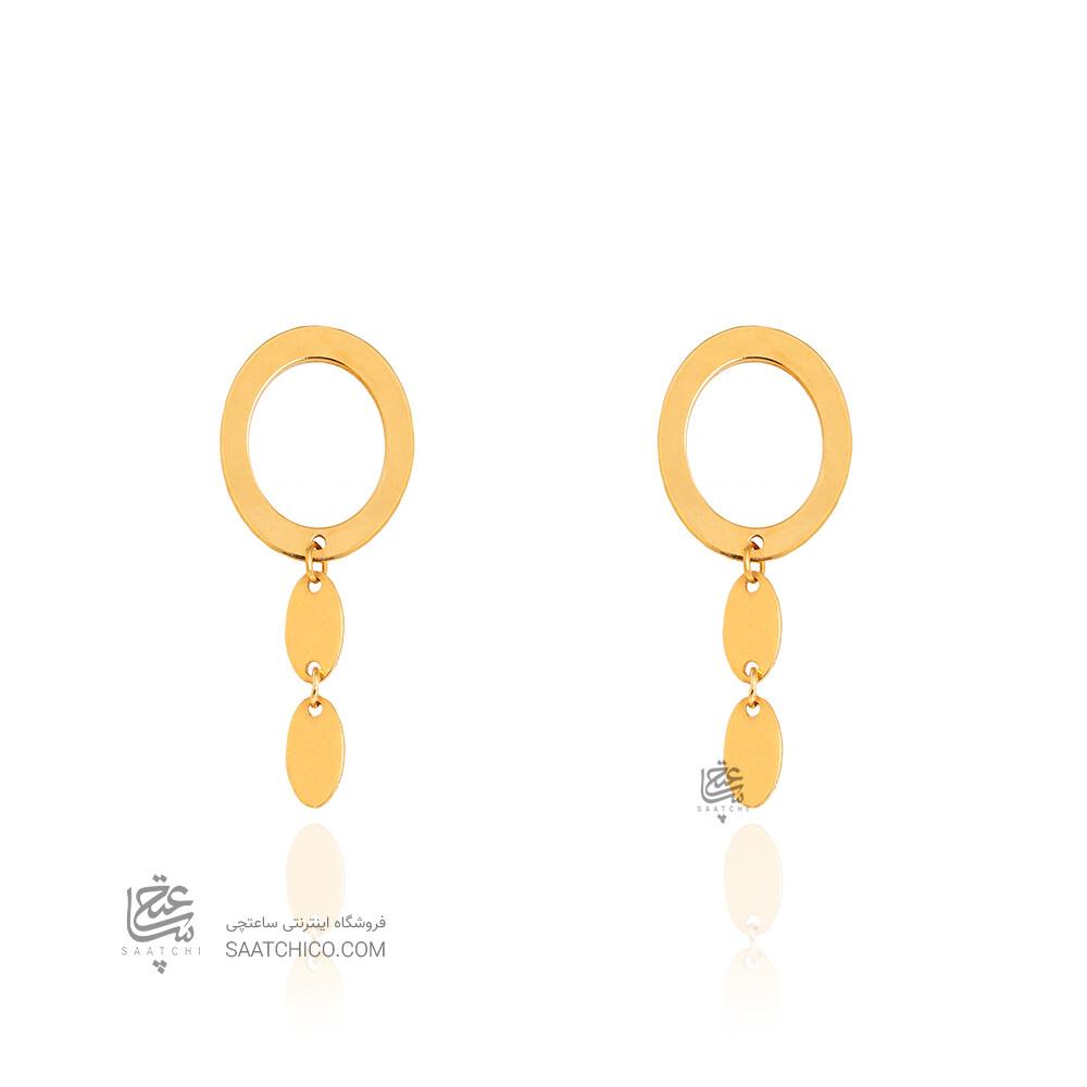 گوشواره طلا کد LE683