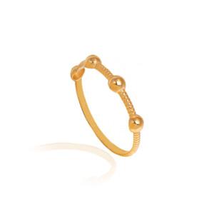 انگشتر طلا کد CR513