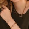 دستبند طلا کد CB449